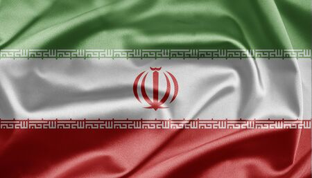 Flag of the Islamic Republic of Iran photo