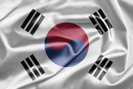 Flag of Korea photo