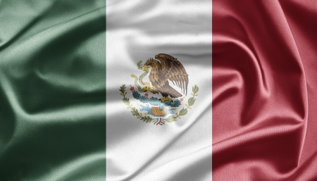 Flag of Mexico photo