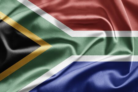 Flag of South Africa Stock Photo - 12950886