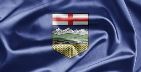 Flag of Alberta photo