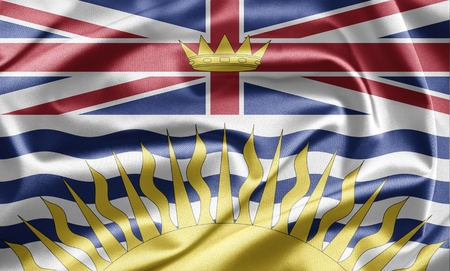 Flag of British Columbia photo