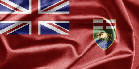 Flag of Manitoba photo
