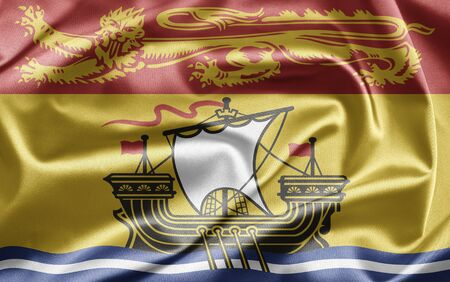 Flag of New Brunswick photo