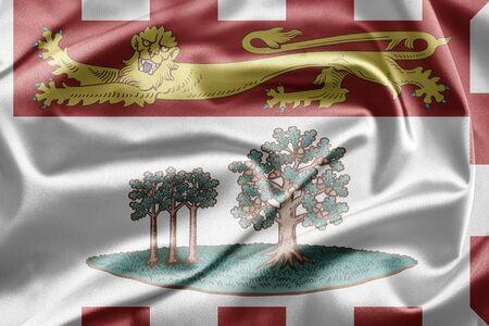 Flag of Prince Edward Island photo