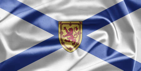 Flag of Nova Scotia photo