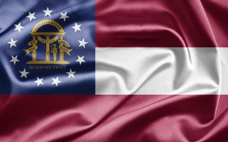 Flag of Georgia photo