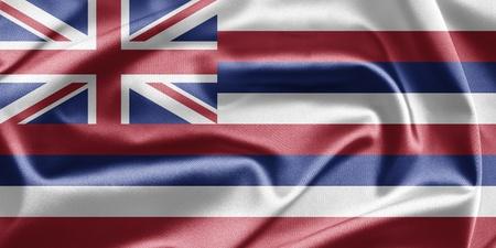 Flag of Hawaii Stock Photo - 12950711