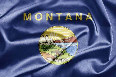 Flag of Montana Stock Photo - 12950951