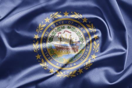 Flag of New Hampshire photo