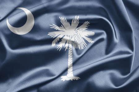 Flag of South Carolina photo