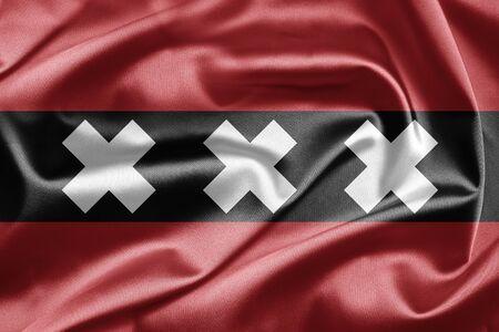 Flag Of Amsterdam Stock Photo - 13003634