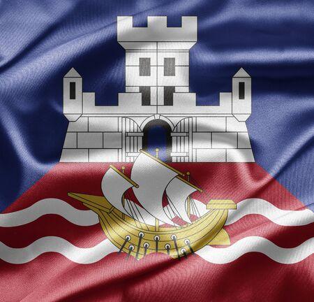Flag of Belgrade photo