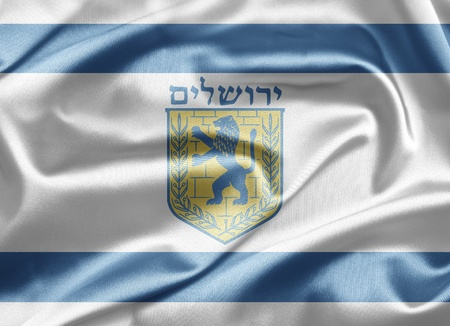 Flag of Jerusalem photo