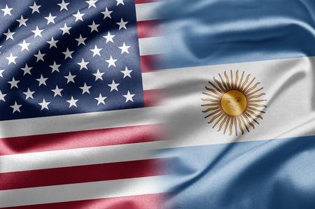 USA and Argentina photo