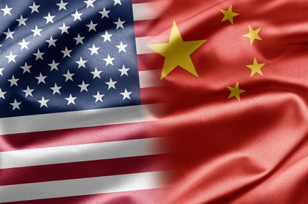 USA and China photo