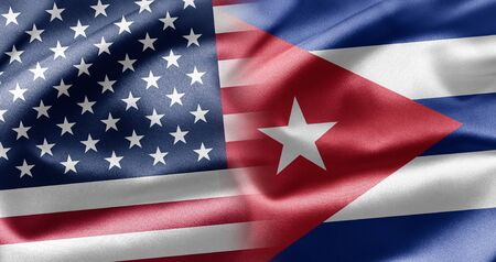 bandera cuba: EE.UU. y Cuba