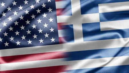 USA and Greece photo