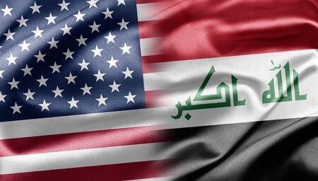 USA and Iraq Stock Photo - 13218194