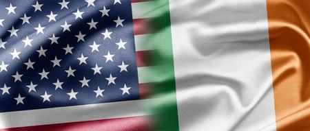 USA and Ireland Stock Photo - 13218188
