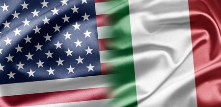 bandiera italiana: Stati Uniti e Italia