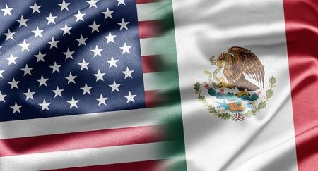 USA and Mexico Stock Photo - 13218192