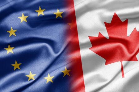 EU and Canada photo