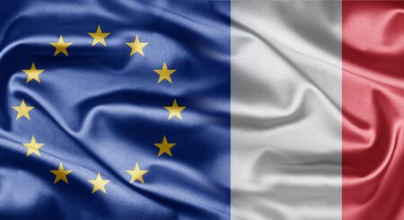 EU and France photo