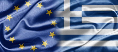EU and Greece photo