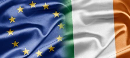 EU and Ireland Stock Photo - 14251798