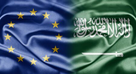 EU and Saudi Arabia photo