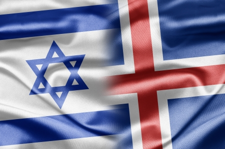 Israel and Iceland Stock Photo - 14494141
