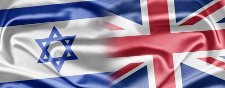 Israel and United Kingdom Stock Photo - 14494127