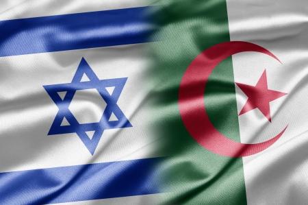 Algeria: Israel and Algeria Stock Photo
