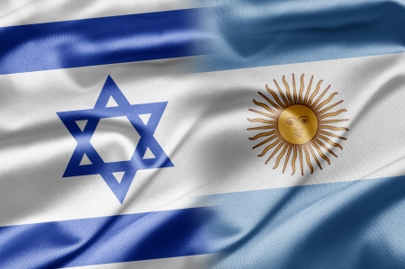 Israel and Argentina Stock Photo - 14494142