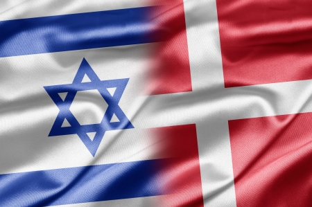 Israel and Denmark Stock Photo - 14494138