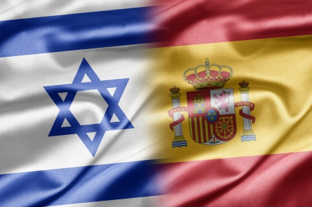 Israel and Spain  Stock Photo