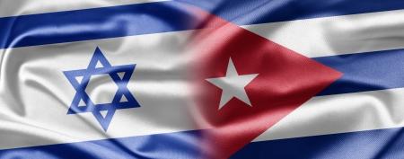 Israel and Cuba Stock Photo - 14494146