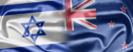 Israel and New Zealand Stock Photo - 14494145