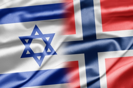 Israel and Norway Stock Photo - 14494162