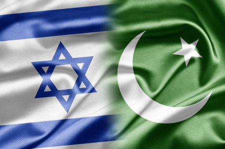Israel and Pakistan Stock Photo - 14494163