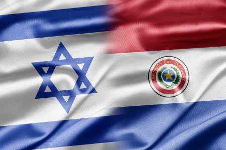 Israel and Paraguay Stock Photo - 14494154