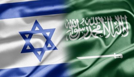 Israel and Saudi Arabia Stock Photo
