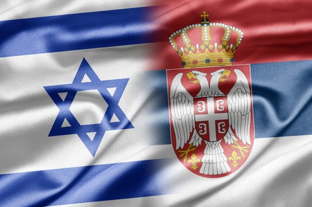 Israel and Serbia Stock Photo - 14494159