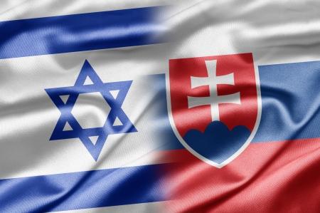Israel and Slovakia Stock Photo - 14494158