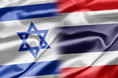 Israel and Thailand Stock Photo - 14494155