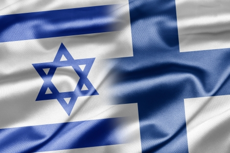 Israel and Finland Stock Photo - 14494172