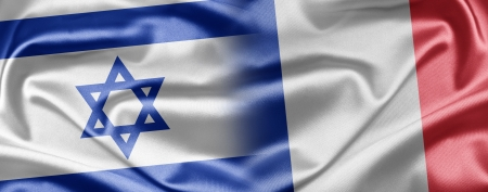 Israel and France Stock Photo