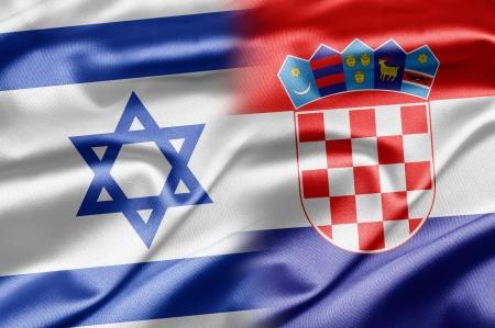 Israel and Croatia Stock Photo - 14494177
