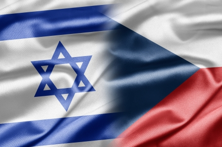 Israel and Czech Republic Stock Photo - 14494168